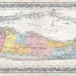1857 Colton Traveller's Map Of Long Island, New York | Maps | Pinterest Intended For Printable Map Of Long Island