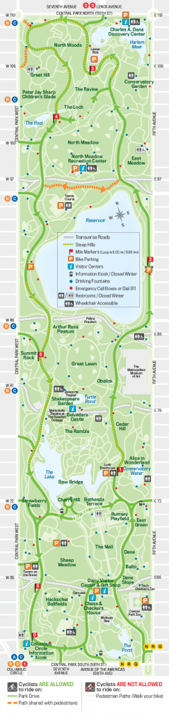 27 Things To Do In Central Park | Free Toursfoot throughout Printable Map Of Central Park