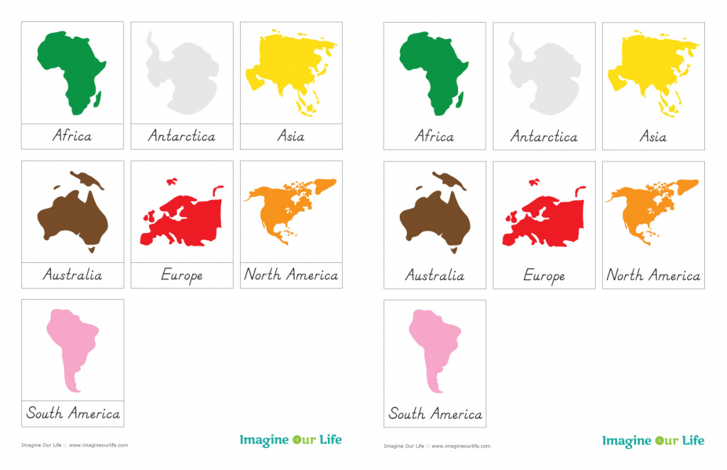 7 Continents Coloring Page   Free Download Best 7 Continents regarding Montessori World Map Printable