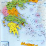 A Map Of Greece And The Greek Islands With Regard To Printable Map Of Greece