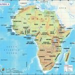 Africa Map, Map Of Africa, History And Popular Attraction In Africa In Printable Map Of Africa With Countries And Capitals