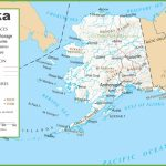 Alaska Road And Railroad Map Regarding Printable Map Of Alaska