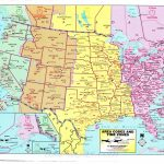 Area Code Map Of Us And Canada Mapareacodetimezones Lovely Us Canada Within Printable Us Map With Time Zones And Area Codes