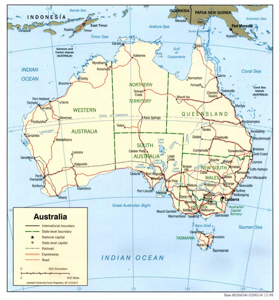 Australia Maps | Printable Maps Of Australia For Download pertaining to Printable Map Of Victoria Australia