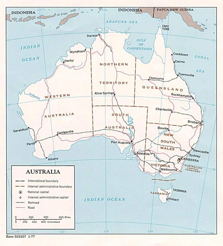 Australia Maps | Printable Maps Of Australia For Download with regard to Large Printable Map