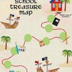 Back To School Treasure Map   Your Everyday Family Throughout Make Your Own Treasure Map Printable