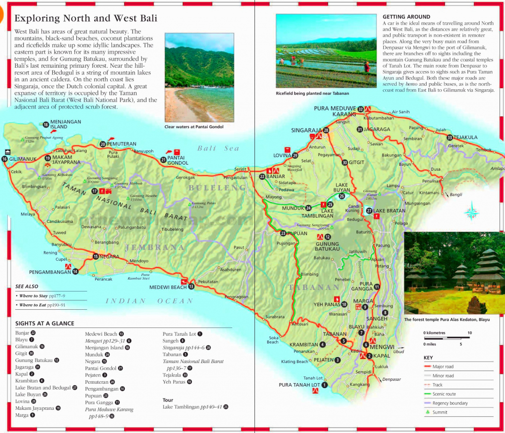 Bali Maps | Indonesia | Maps Of Bali Island with Printable Map Of Bali