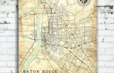 Printable Map Of Baton Rouge
