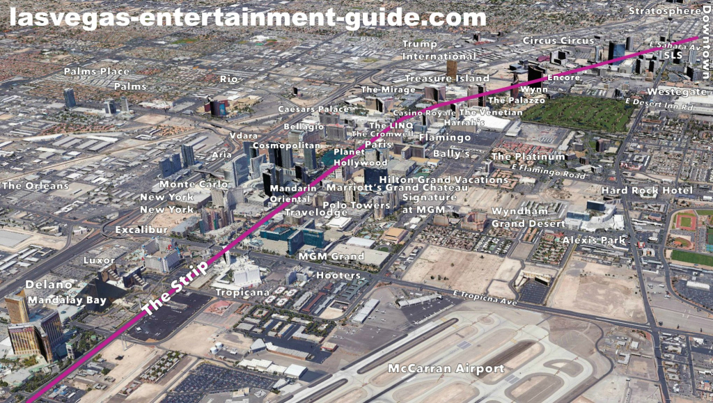 Best Las Vegas Strip Maps within Printable Las Vegas Strip Map 2016