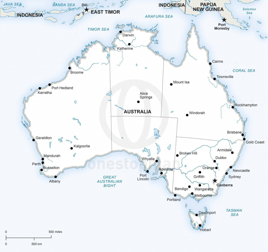 Best Photos Of Australia Map Printable Outline In With States And within Printable Map Of Australia With States And Capital Cities