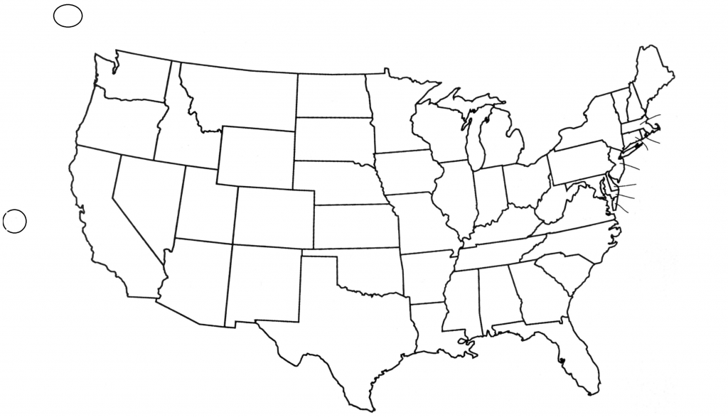 Black And White Map Us States Usa50Statebwtext Awesome Best Blank Us throughout Blank Us Political Map Printable
