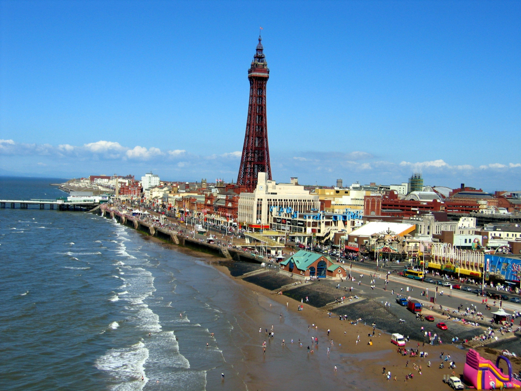 Blackpool - Wikipedia in Blackpool Tourist Map Printable