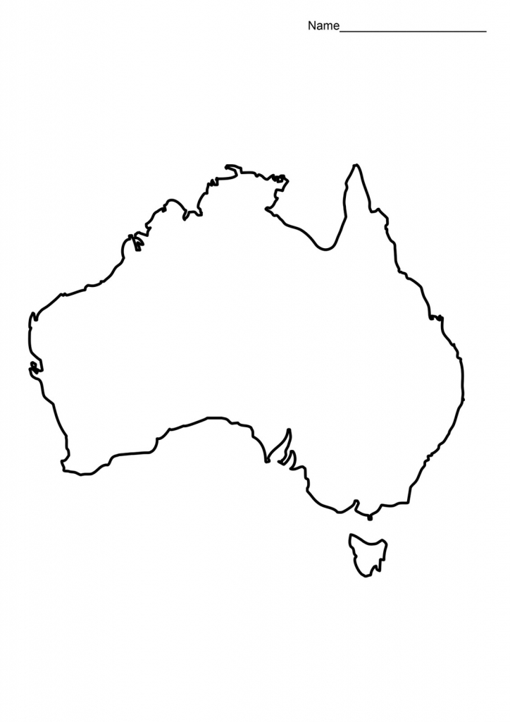 Blank Australia Map Google Search Learning At Printable Of For 4 throughout Blank Map Of Australia Printable