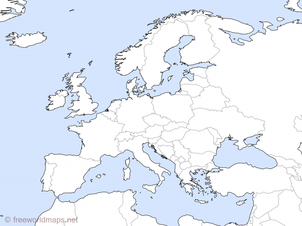 Blank Map Of Europe Africa And Asia And Travel Information with Printable Map Of Europe And Asia