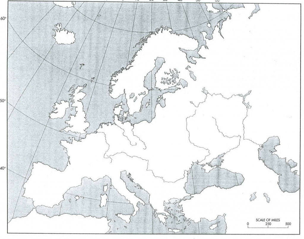 Blank Physical Map Of Europe - Free Maps World Collection inside Printable Blank Physical Map Of Europe