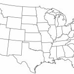 Blank Printable Map Of The Us Clipart Best Clipart Best   Centers In Free Printable Outline Map Of United States