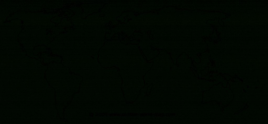 Blank World Map Continents - Ajan.ciceros.co throughout Map Of World Continents And Oceans Printable