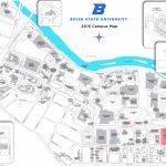 Boise State University Campus Map With Regard To Boise State University Printable Campus Map