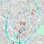 Bruges Maps   Top Tourist Attractions   Free, Printable City Street Intended For Bruges Map Printable
