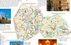 Tourist Map Of Brussels Printable