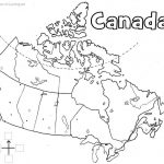 Canada Printable Map | Geography | Learning Maps, Printable Maps Regarding Free Printable Map Of Canada Worksheet