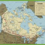 Canada Road Map For Printable Map Of Western Canada
