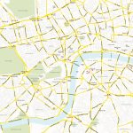 Central London Map   Royalty Free, Editable Vector Map   Maproom In Central London Map Printable