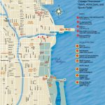 Chicago Downtown Map With Printable Street Map Of Downtown Chicago
