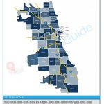 Chicago Illinois Zip Code Map Within Chicago Zip Code Map Printable