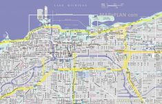 Chicago Maps – Top Tourist Attractions – Free, Printable City Street Map regarding Chicago City Map Printable