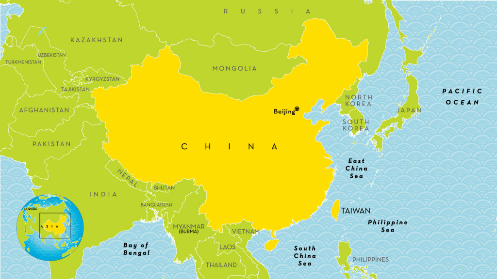 China Country Profile - National Geographic Kids with regard to Printable Map Of China For Kids