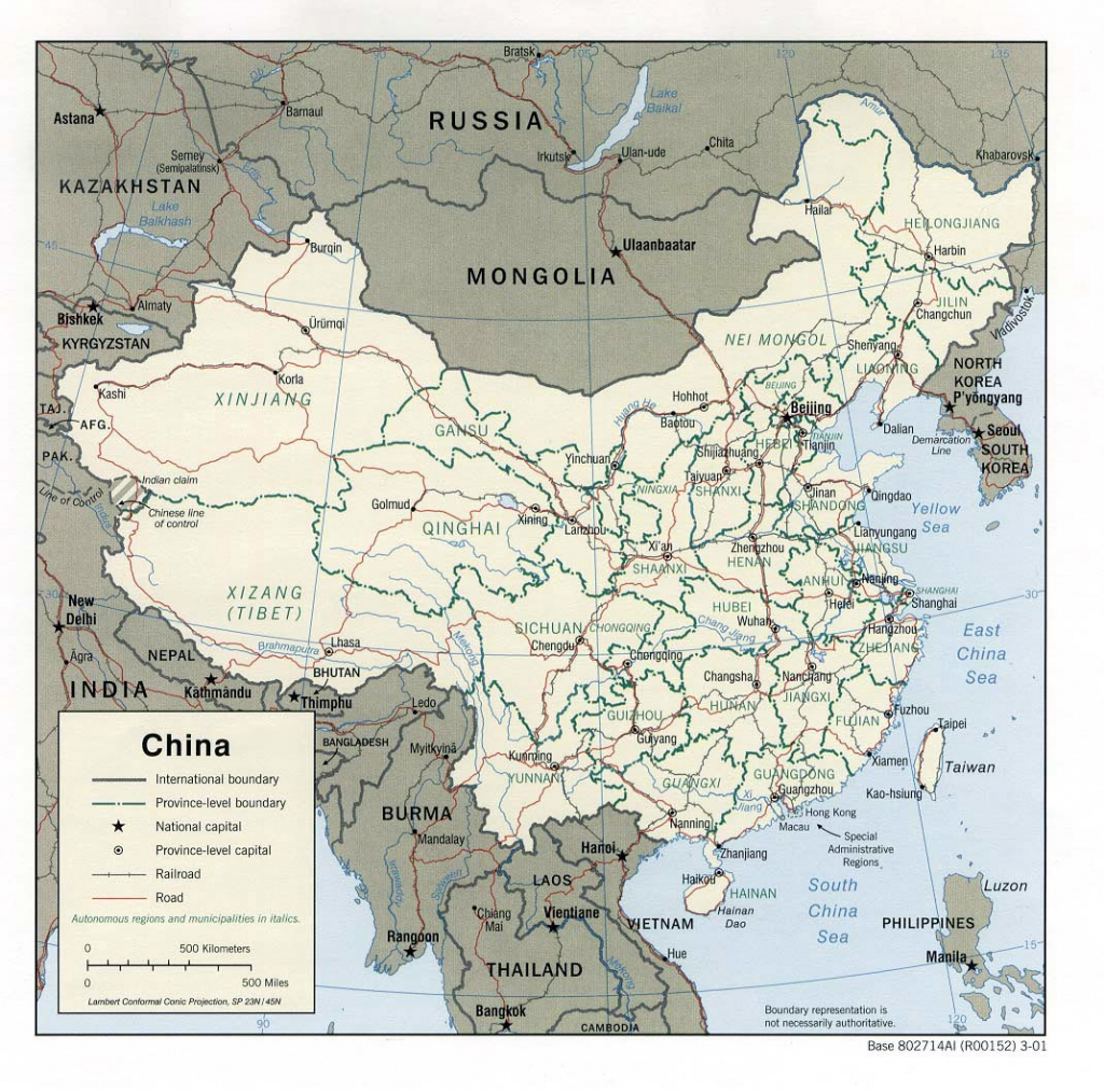 China Maps | Printable Maps Of China For Download regarding Printable Map Of China For Kids