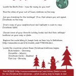 Christmas Around The World: Santa's Name (Free Printable Regarding Free Printable Map Activities