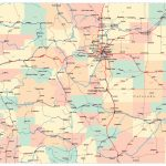 Colorado Map With Cities And Travel Information | Download Free With Regard To Printable Map Of Colorado Cities