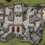 Cragmaw Castle From Lost Mine Of Phandelver Dnd 5 Starter Set For Lost Mine Of Phandelver Printable Maps