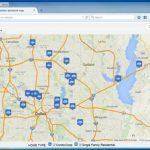 Create A Map: Easily Map Multiple Locations From Excel Data   How To Intended For Make A Printable Map