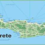 Crete Road Map For Printable Map Of Crete