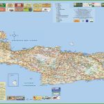 Crete Tourist Map With Regard To Printable Map Of Crete