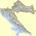 Croatia Maps | Printable Maps Of Croatia For Download In Printable Map Of Croatia