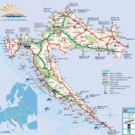 Croatia Maps | Printable Maps Of Croatia For Download Intended For Europe Travel Map Printable