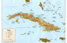 Printable Outline Map Of Cuba
