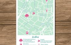 Custom Wedding Map, Event Map, Directions, Locations – Printable for How To Create A Printable Map For A Wedding Invitation