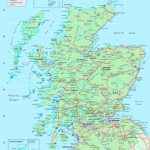 Detailed Map Of Scotland Pertaining To Printable Map Of England And Scotland