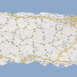 Detailed Road Map Of Puerto Rico With Cities. Puerto Rico Detailed For Printable Map Of Puerto Rico With Towns