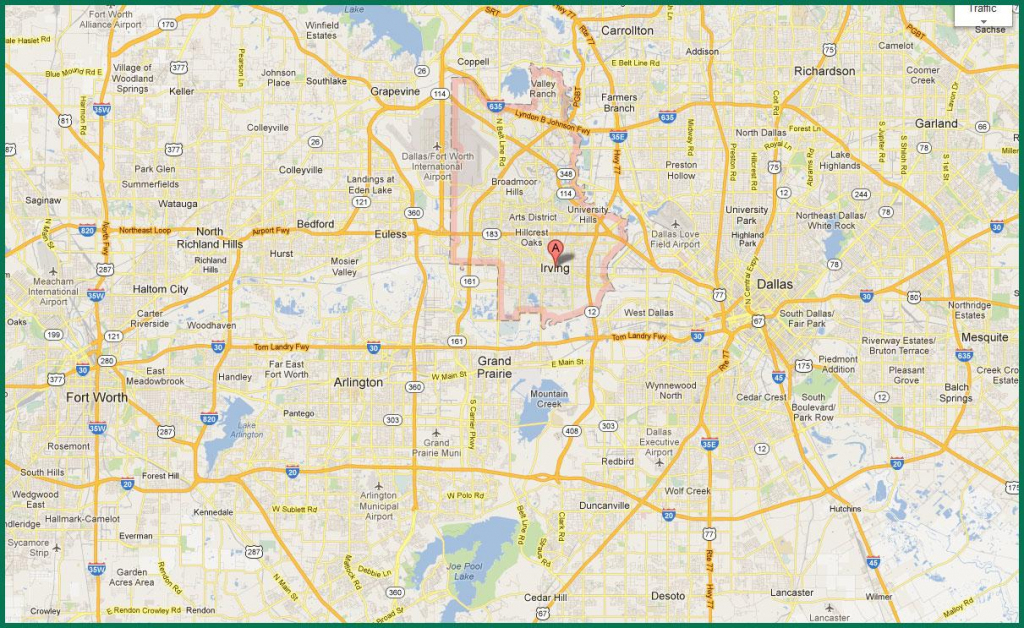 Dfw Area Map - Map Of Dfw Area (Texas - Usa) regarding Printable Map Of Dallas Fort Worth Metroplex
