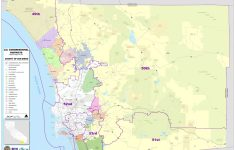 District Maps inside San Diego County Zip Code Map Printable