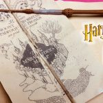 Diy Harry Potter Marauder's Map Printable And Parchment Easy Diy With Marauder's Map Replica Printable