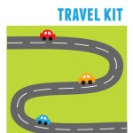Diy Kids' Travel Binder + Free Printable Road Trip Games With Regard To Printable Travel Maps For Kids