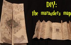 Diy: Marauders Map! – Youtube inside Marauders Map Template Printable