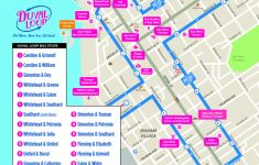 Key West Street Map Printable